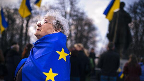 rassemblement pro-Ukraine, Lougansk - Sputnik France