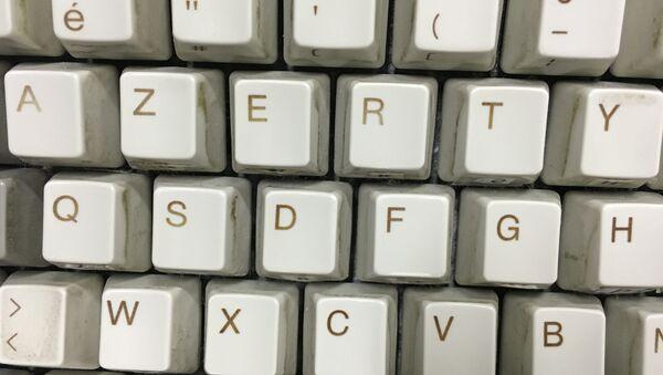 Un clavier Azerty - Sputnik France