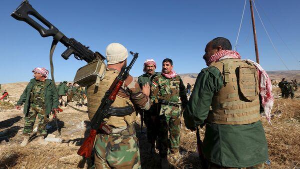 Peshmergas kurdes - Sputnik France