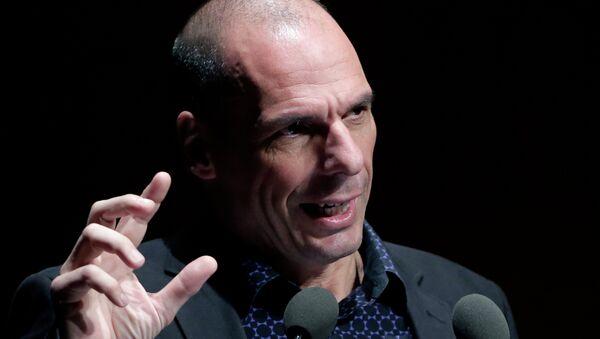 L'ancien ministre grec des Finances, Yanis Varoufakis - Sputnik France