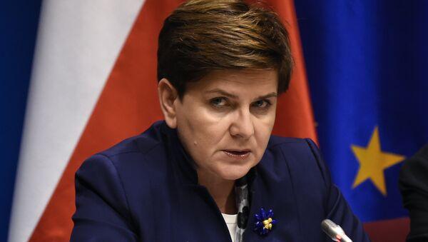 La Première Ministre de Pologne Beata Szydło - Sputnik France