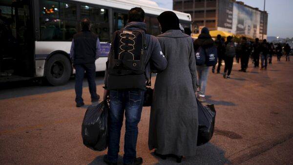 Réfugiés à Athènes - Sputnik France