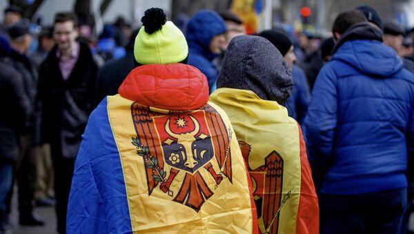 Moldavie, protestations de masse - Sputnik France