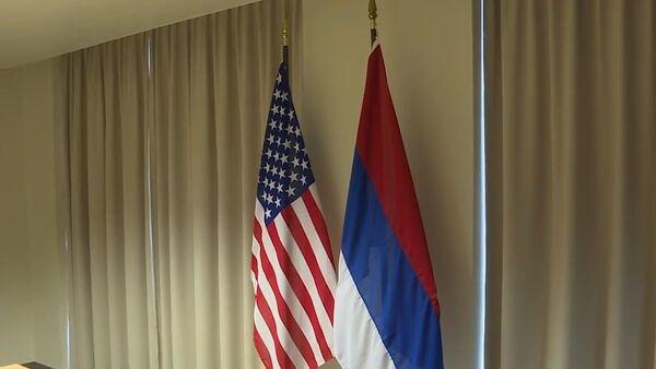 Le département d'Etat met le drapeau russe à l'envers - Sputnik France