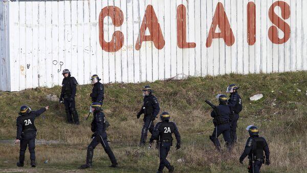 La police française dans la ville de Calais - Sputnik France