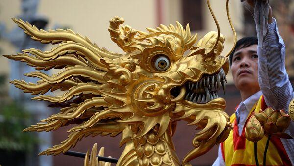 Le dragon chinois. Image d'illustration - Sputnik France