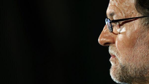 Le président sortant du gouvernement espagnol, le conservateur Mariano Rajoy - Sputnik France