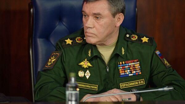 Le chef d'état-major des forces armées russes Valeri Guerassimov - Sputnik France