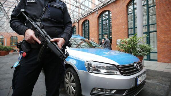 Un policier, l'image d'illustration - Sputnik France