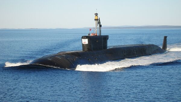 Le sous-marin russe  Iouri Dolgorouki - Sputnik France