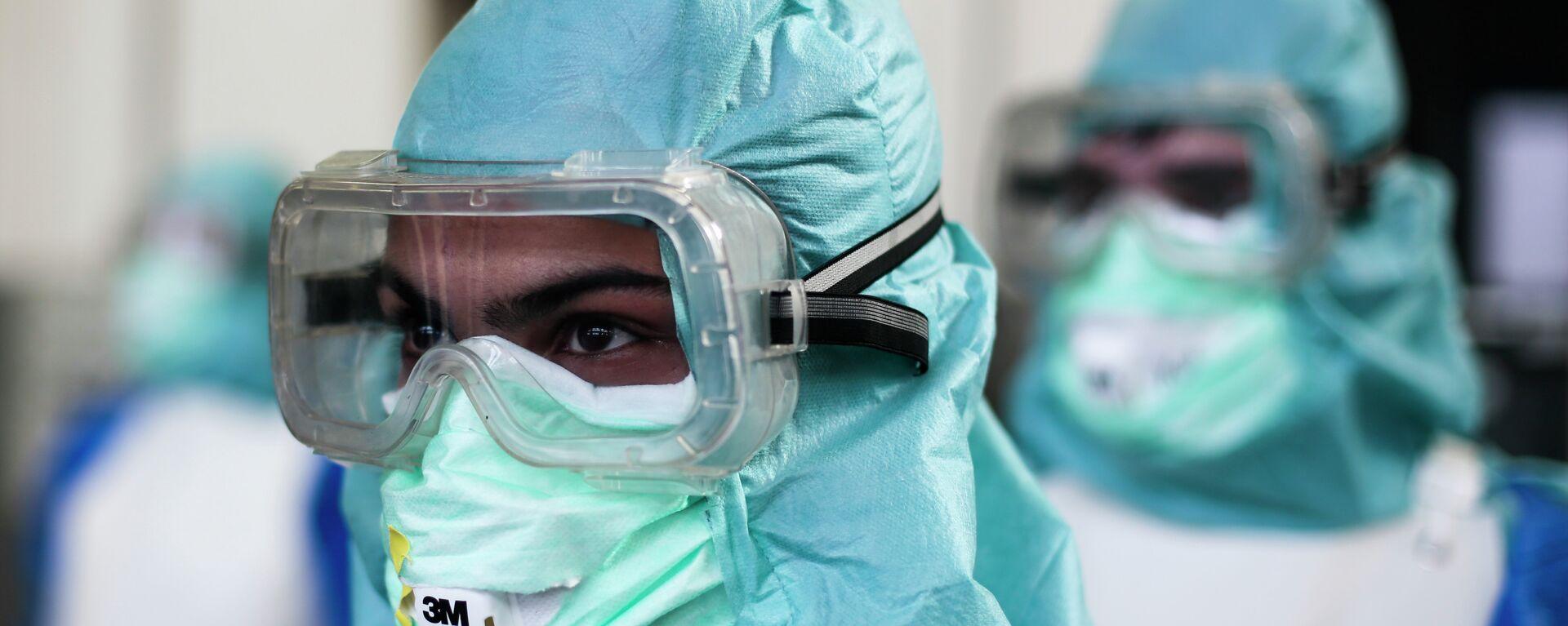 Lutte contre Ebola en Guinée - Sputnik France, 1920, 13.08.2021
