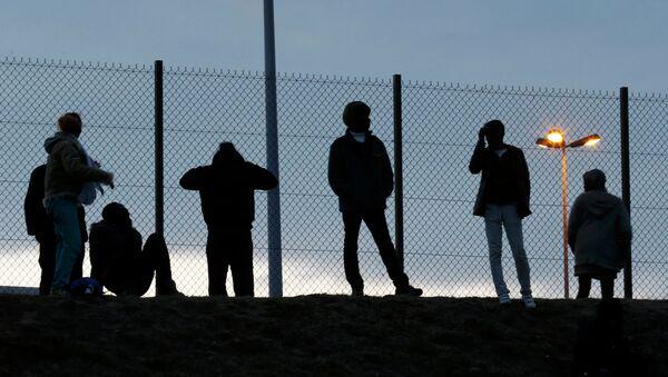 Migrants, Calais, juillet 2015 - Sputnik France
