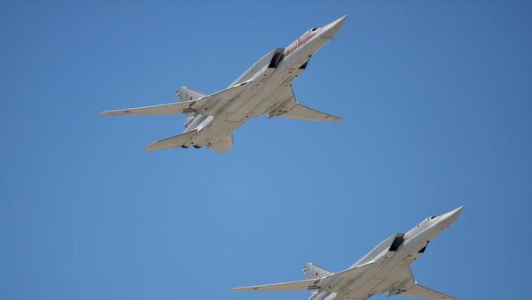 Bombarderos estratégicos Tu-22M3 - Sputnik France