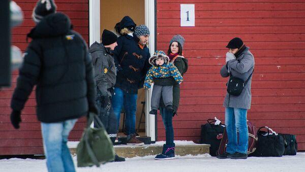 migrants,Norvège - Sputnik France
