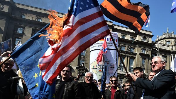 Le président du Parti radical serbe Vojislav Šešelj - Sputnik France