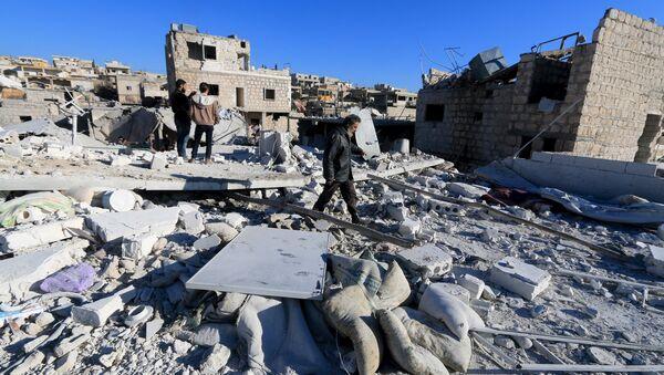 La crise syrienne - Sputnik France