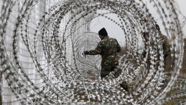clôture, Macédoine - Sputnik France