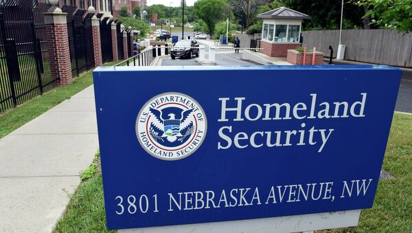 A view of the Homeland Security Department headquarters in northwest Washington, Friday, June 5, 2015 - Sputnik France