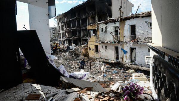 Kurdistan, bâtiments détruits - Sputnik France