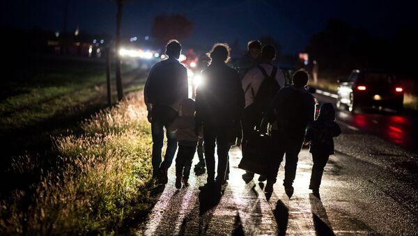 migrants,Autriche - Sputnik France
