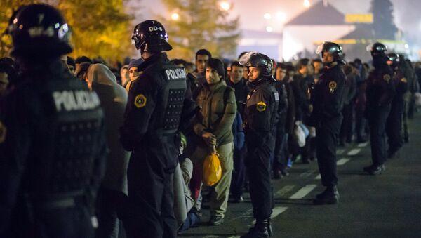 police d` Autriche, migrants - Sputnik France
