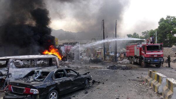 Daech revendique l'explosion près du palais présidentiel à Aden - Sputnik France