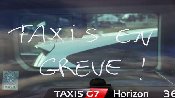 Grève des taxis - Sputnik France