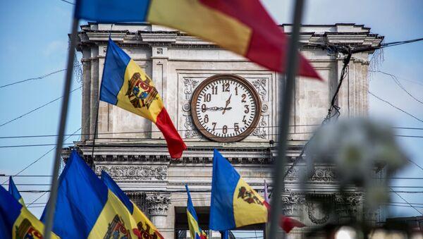 La protestation en Moldavie - Sputnik France