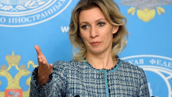 Briefing by Foreign Ministry's spokesperson Maria Zakharova - Sputnik France