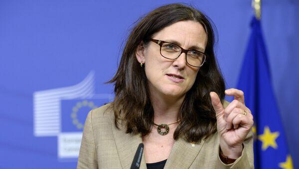 Cecilia Malmström, commissaire européenne au Commerce - Sputnik France