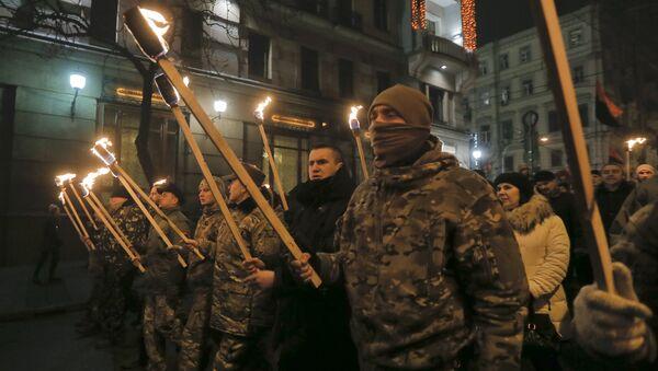 Nationalist March in Kiev - Sputnik France
