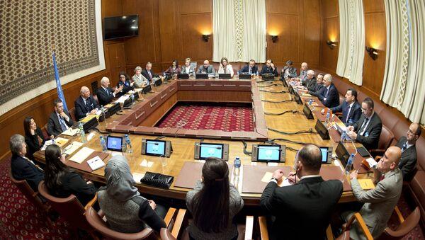 Les pourparlers de Genève sur la Syrie, le 29 janvier 2016 - Sputnik France