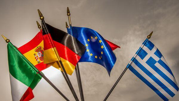 drapeaux de l'UE - Sputnik France