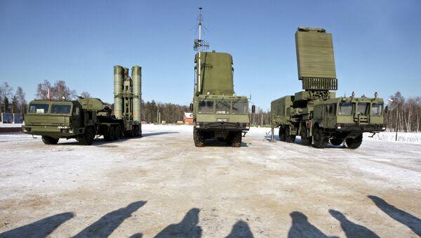 Le système russe de défense antiaérien S-400 - Sputnik France