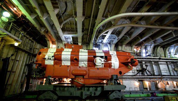 Un appareil sous-marin de sauvetage - Sputnik France