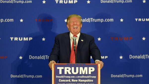 Donald Trump, candidat à la présidence US - Sputnik France