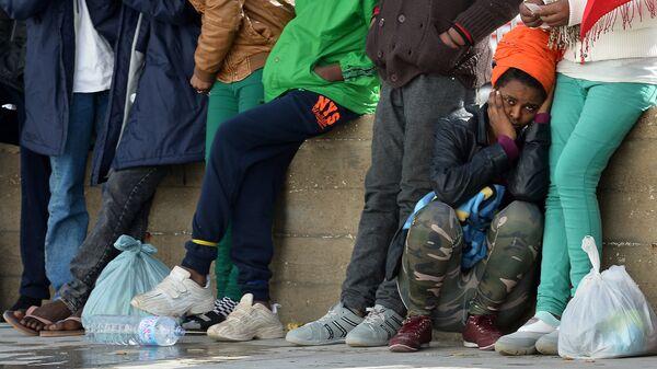 Migrants à Lampedusa en 2015 - Sputnik France