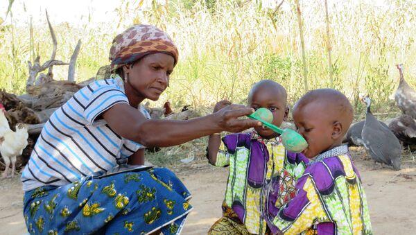 Famine en Afrique - Sputnik France