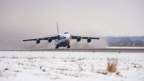 L'avion-cargo Antonov 124 Rouslan - Sputnik France