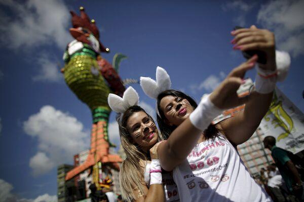 Les couleurs vives du carnaval brésilien - Sputnik France