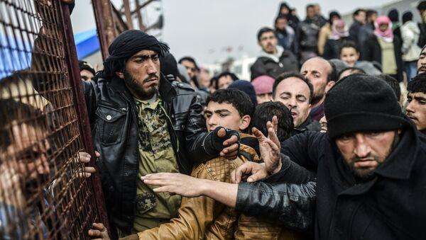 Réfugiés syriens - Sputnik France