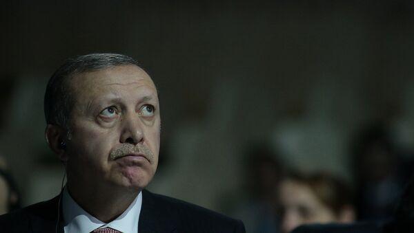 Recep Tayyip Erdogan, presidente de Turquía - Sputnik France