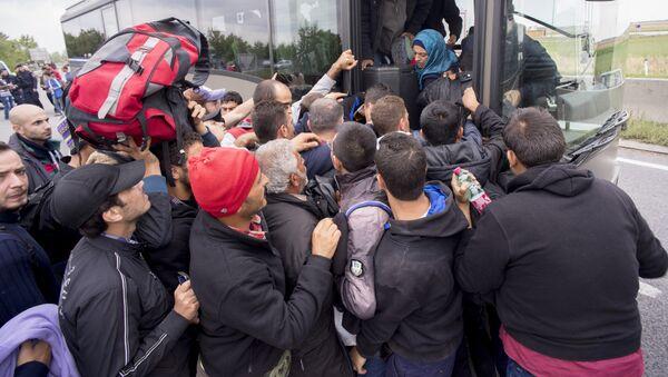 Migrants en Autriche - Sputnik France