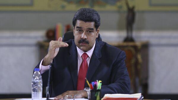 Le président vénézuélien Nicolas Maduro - Sputnik France