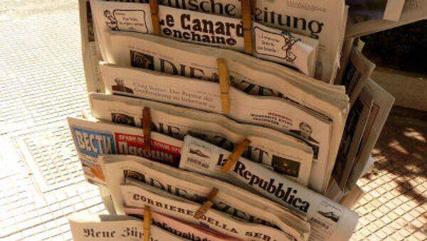 Des journaux, image d'illustration - Sputnik France