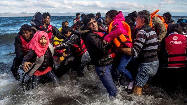 migrants sur les navires - Sputnik France