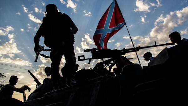 Donbas militia in Eastern Ukraine - Sputnik France