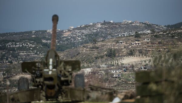 L'offensive de l'armée syrienne aux alentour d'Idlib - Sputnik France