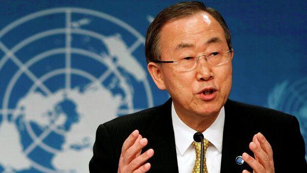 United Nations Secretary-General Ban Ki-Moon - Sputnik France