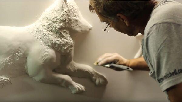 Bernie Mitchell, l'homme qui sculptait les murs - Sputnik France